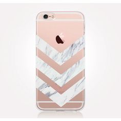 Transparent White Marble iPhone Case ($12) ❤ liked on Polyvore featuring accessories, tech accessories, white iphone case, iphone cover case, iphone sleeve case and transparent iphone case