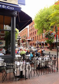 Water Street Cafe, Gastown, Vancouver, BC.