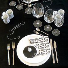 Creatief de tafel dekken