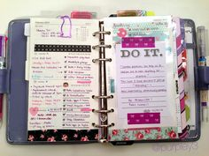 My Purpley Life: My Filofax Week #7...like the tabs shd bought in her post.