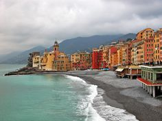 Camogli on the Italian Riviera - Lovely, quaint, off the beaten path...thank you CountryBred!