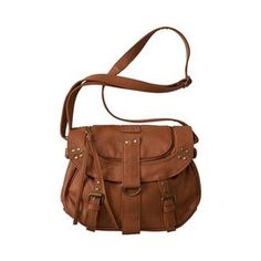 love love this sachel! #brownleather