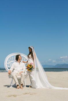Our beach wedding in Far North Queensland, Australia.