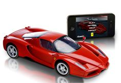 iPhone Controlled Ferrari -- he'll love this!!