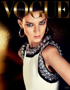 Kati Nescher featured on the Vogue Spain cover from November 2014