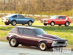 In this feature article HOT ROD takes a look at a trio of unique AMC drag cars that includes a 1973 AMC Gremlin, a 1974 AMC Gremlin, and a 1981 AMC Spirit - Hot Rod Magazine Amc Gremlin, Jeep, American Motors, Shot Photo, Mustang Cars, Drag Cars, Pontiac Gto, Gremlins, American Muscle Cars