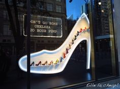 New York window display... #shoes