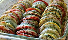 The Big Giant Food Basket: Super Easy Summer Vegetable Casserole