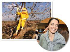 Helena Linhares se dedica a apiário em fazenda da família  http://glamurama.uol.com.br/helena-linhares-se-dedica-a-apiario-em-fazenda-da-familia/