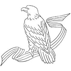 Pattern Detail | Eagle | Needlecrafter