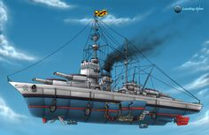 Impreial frigate by ~LandingZone on deviantART