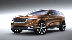 Kia Cross GT Concept CUV on show in Chicago