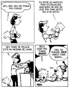 Calvin e Haroldo - Tirinha Nº 24