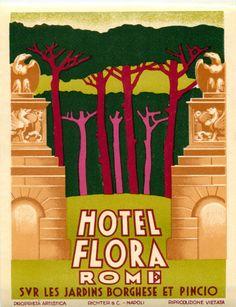 Hotel Flora ~ ROME ITALY