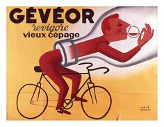 Search Cycling, Page, and 2 images on Designspiration Vintage Ephemera, Vintage Ads, Vintage Posters, Vintage Airline, Wine Advertising, Wine Tasting Events, Retro Bicycle, Best Ads, Wine Design
