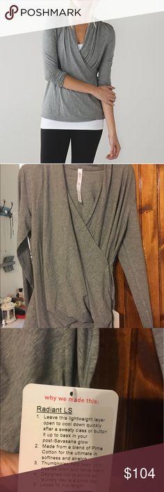 Radiant LS, lululemon NWT size 8 NWT, price is firm lululemon athletica Tops Tees - Long Sleeve