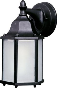 Maxim Lighting 85926BK Hexagon Outdoor Sconce by Maxim Lighting. $52.20. Light Bulb:(1)13w Spiral GU24 CFL, Finish:Black   Available in a number of finishes.