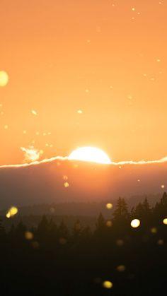 My Favorite Wallpaper: Sunset in the horizon Nature Wallpaper, Beautiful Wallpaper, Free Hd Wallpapers, Iphone Wallpapers, Macbook Wallpaper, Milky Way, Anime Art Girl, Sunrise, Beautiful Places