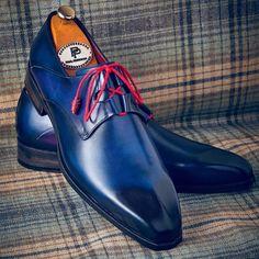 Mens Blue Dress Shoes, Men Dress, Shoes Men, Women's Shoes, Stylish Mens Fashion, Latest Mens Fashion, Stylish Menswear, Shoe Websites, Simple Shoes