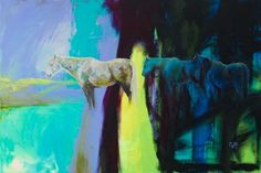 Still | Carrie Wild Fine Art  Contemporary Horse Painting