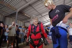 Badass Grandma Celebrates 100th Birthday By Going Skydiving #women #power #inspiration