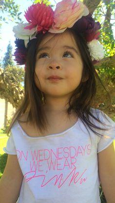 """On Wednesdays we, wear pink"""