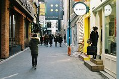 Myeongdong fashion district