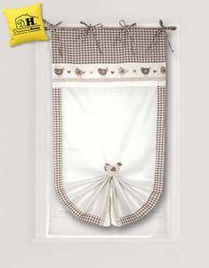 Allegra tenda finestra 60 x 160 della Collezione San Gallo in Fattoria in Beige