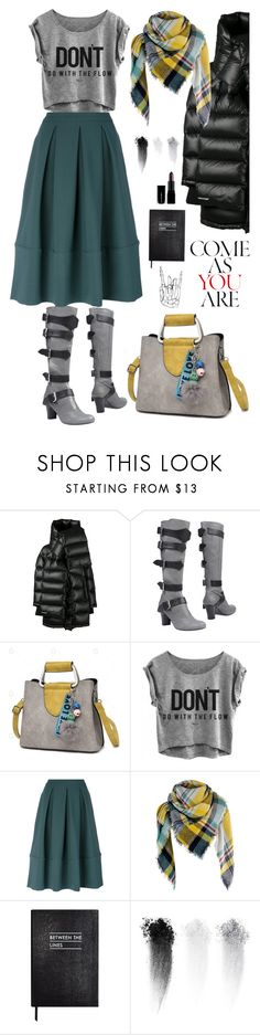 """""""perfect as you are"""" by ms-wednesday-addams ❤ liked on Polyvore featuring Balenciaga, Vivienne Westwood, Société Anonyme, Sloane Stationery, NARS Cosmetics and Illamasqua"""