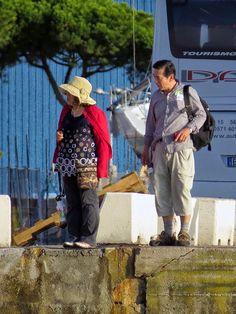 "Passengers of the ""Ocean Dream"", port of Livorno"