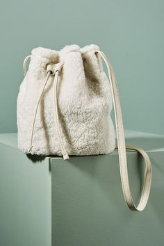 Primecut Shearling Bucket Bag  ad  AnthroFave  AnthroRegistry Anthropologie  Ribbed Sweater 4cd931c8e0787
