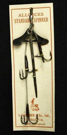 Vintage Allcocks Dead Bait Fishing Lure