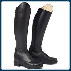 MOUNTAIN HORSE unisex Reitstiefel RICHMOND HIGH RIDER schwarz, long/regular, 43 - Stiefel für frauen (*Partner-Link)