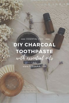 """This isn't the first time I've made a DIY charcoal toothpaste, but it's the first time I've actually wanted to use it when it was done. And by """"charcoal"""" I mean, """"activated charcoal"""", but I also don't want to type out """"activated charcoal"""" every time… Toothpaste Recipe, Homemade Toothpaste, Homemade Conditioner, Homemade Shampoo, Diy Charcoal Toothpaste, Essential Oil Blends, Essential Oils, Body Scrub Recipe, Pasta"""