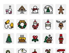 "Check out new work on my @Behance portfolio: ""Christmas icon set Sign of the zodiac"" http://be.net/gallery/46005721/Christmas-icon-setSign-of-the-zodiac"
