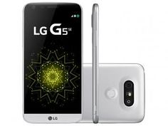 "Smartphone LG G5 SE 32GB Prata 4G Câm. - 16MP + Selfie 8MP Flash Tela 5.3"" QHD Octa Core"