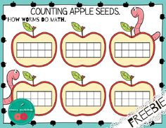 How worms do math. A fun counting game!