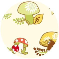 Heather DuPont, Better Gnomes & Gardens, Toadstools Cream  @Rachel Lombardo, I thought you'd like this one.