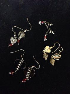 Heart Earrings by LFDSIStore on Etsy