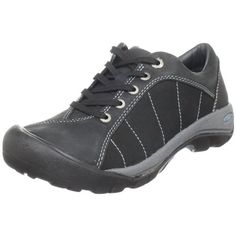 Keen Womens Presidio Leather Lace-Up Hiking, Trail Shoes Sneakers Mode, Sneakers Fashion, High Top Sneakers, Adidas Sneakers, Trail Shoes, Hiking Shoes, Athletic Women, Athletic Shoes, Best Walking Shoes