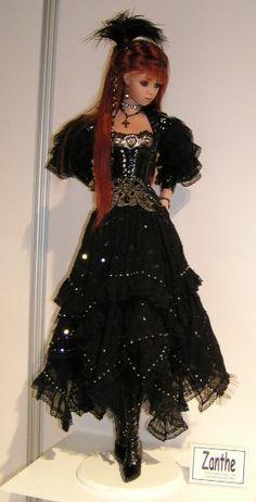 Reminds me of a Spanish seniorita doll .. an McLean Zanthe 2004