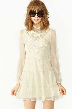 Florence Crochet Dress in What's New at Nasty Gal ($50-100) - Svpply