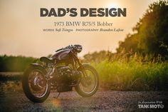 GT-Moto's 1973 R75/5 BMW bobber is a great bike with an even better story behind it. - Bike EXIF