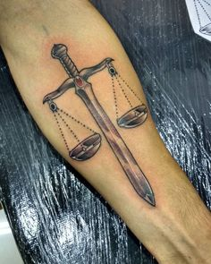 45 Different Lawyer Tattoos for new Year lawyer tattoos ideas; lawyer with tattoos phoenix Back Tattoos For Guys, Tattoos For Women, Lawyer Tattoo, Scales Of Justice Tattoo, Picture Tattoos, Cool Tattoos, Libra Sign Tattoos, Balance Tattoo, Knight Tattoo
