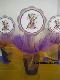 rapunzel, tangled Birthday Party Ideas | Photo 11 of 16 | Catch My Party