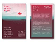 NEXOS - Festival Internacional de Cine Alienigena on Behance