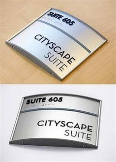 Professional Brushed Metal Office Interior Signs Professional - Conference room door signs for offices