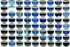 Eric Forey | Façad'face  Eric Forey is a French photographer specialized in architectural and urban photography and he is above all an observer. He roams southeastern France looking lines, shapes, patterns and colors and, according to him, listening to them too…