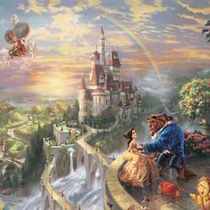 Thomas+Kinkade+Disney+Dreams+Collection