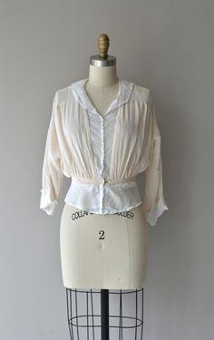 Gabriella blouse vintage 1910s blouse Edwardian by DearGolden